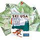 Inkstone Designs Playing Cards - Ski USA