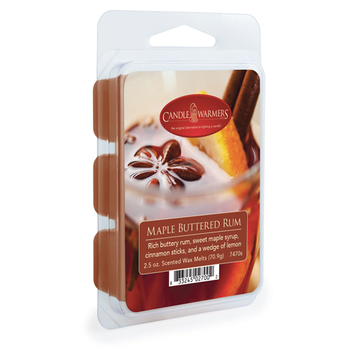 Candle Warmer Company Wax Melt - Maple Buttered Rum 2.5oz