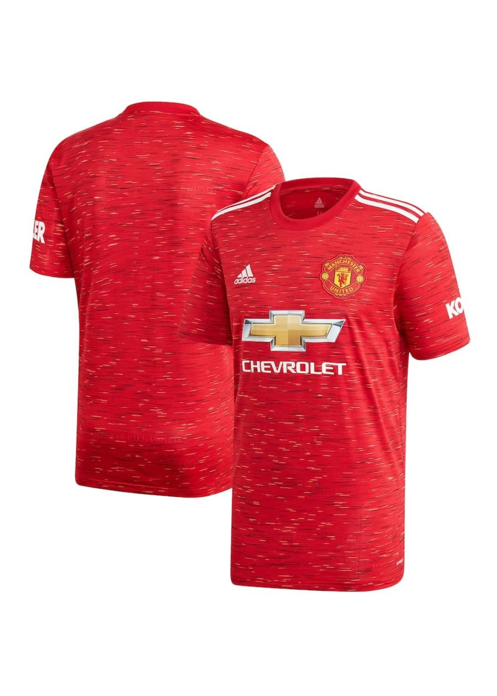 Adidas MANCHESTER UNITED 2020/21 HOME JERSEY - YOUTH