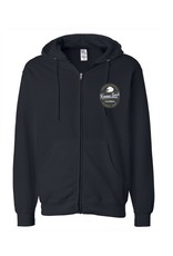 Black Anchor Supply CO. #323 SWT CRAFTED BEAR ENDLESS SUMMER  ZIP HOOD