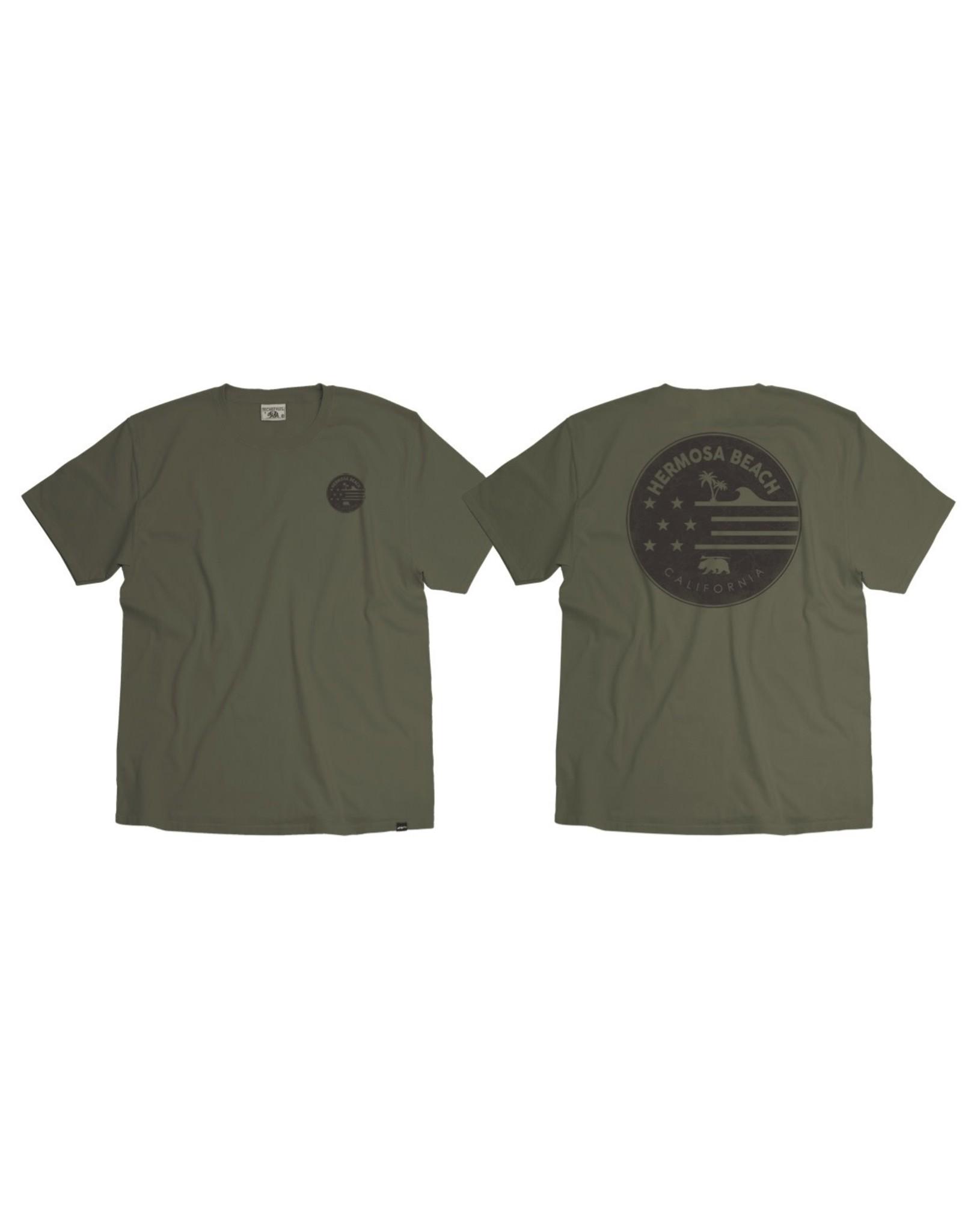 Techstyles #111 SS THE EXPLORER TEE CACTUS 21327FB/LC