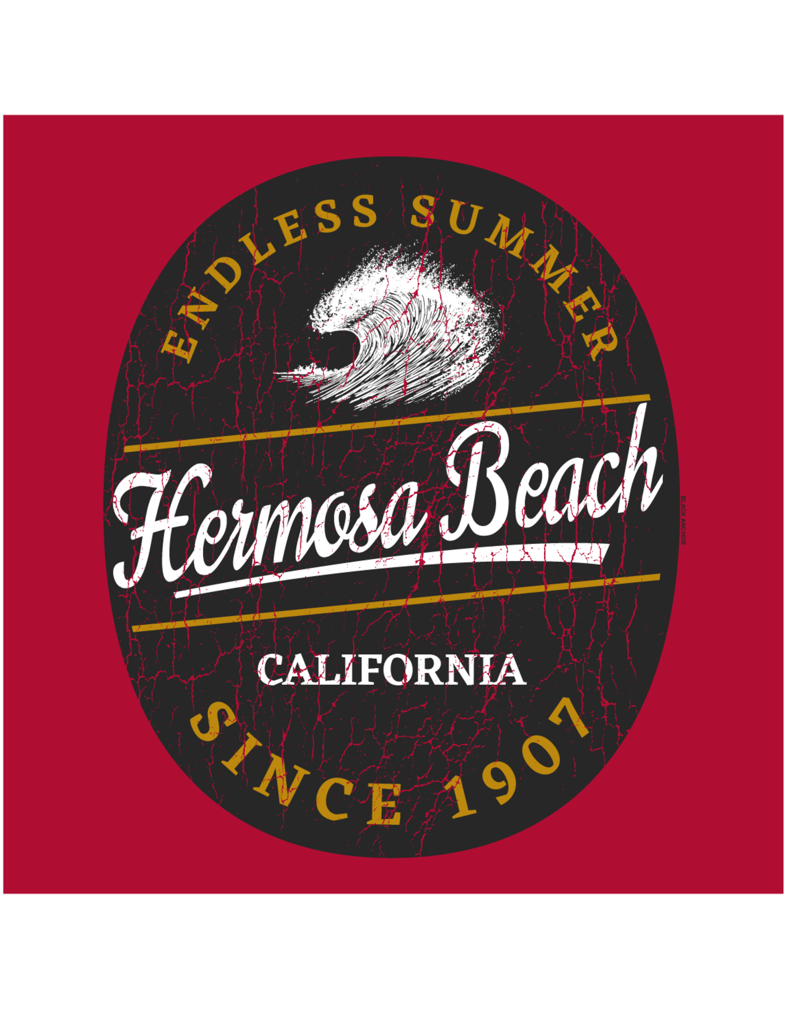 Black Anchor Supply CO. #234 SS CRAFTED BEAR ENDLESS SUMMER HB TEE