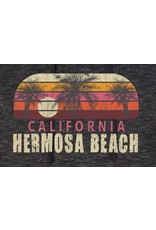 Black Anchor Supply CO. #999 SWT INDEPENDENT BAJA HOODIE STRIPED PALMS