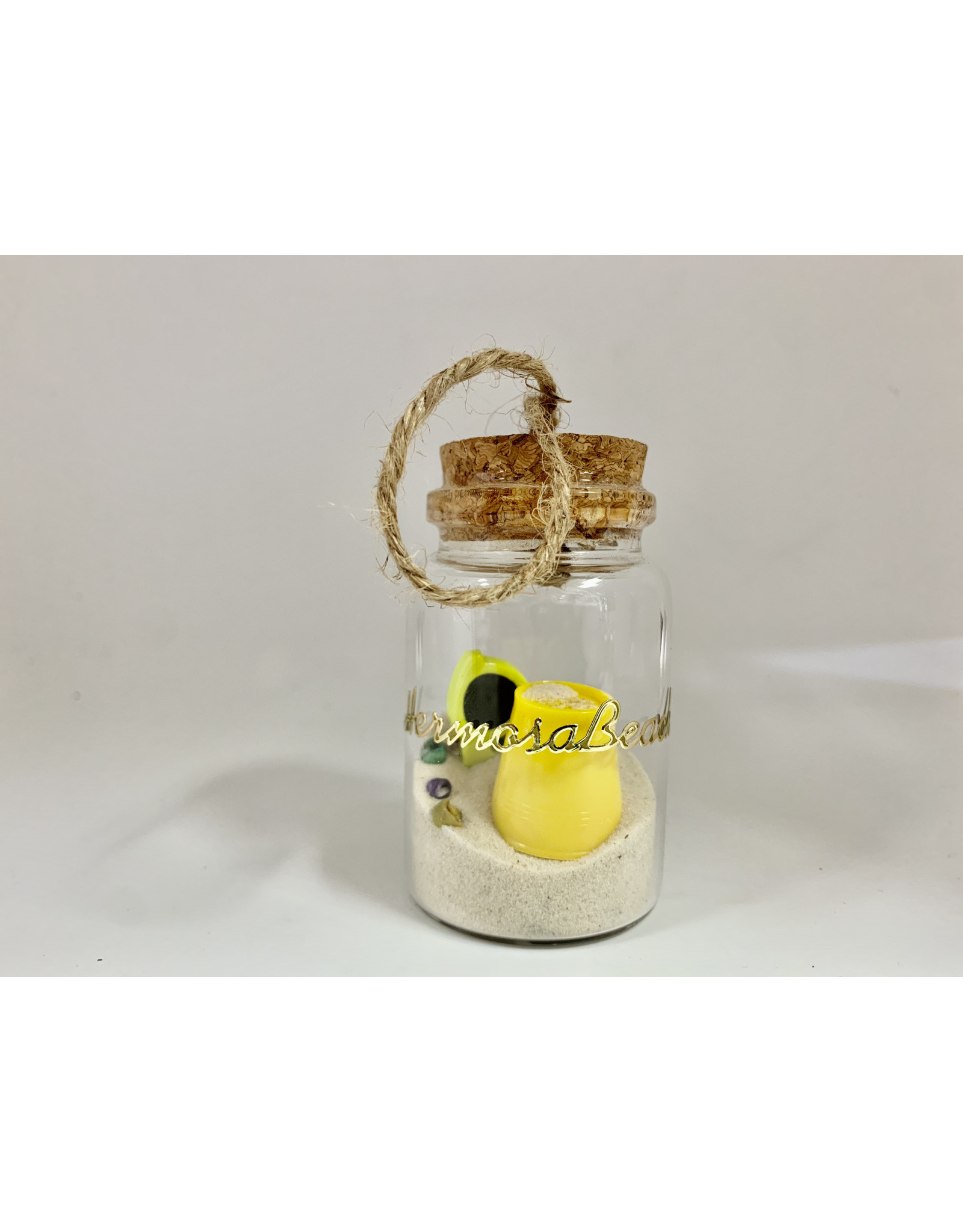 SAND IN A BOTTLE ORNAMENTS BUCKET SUNGLASSES