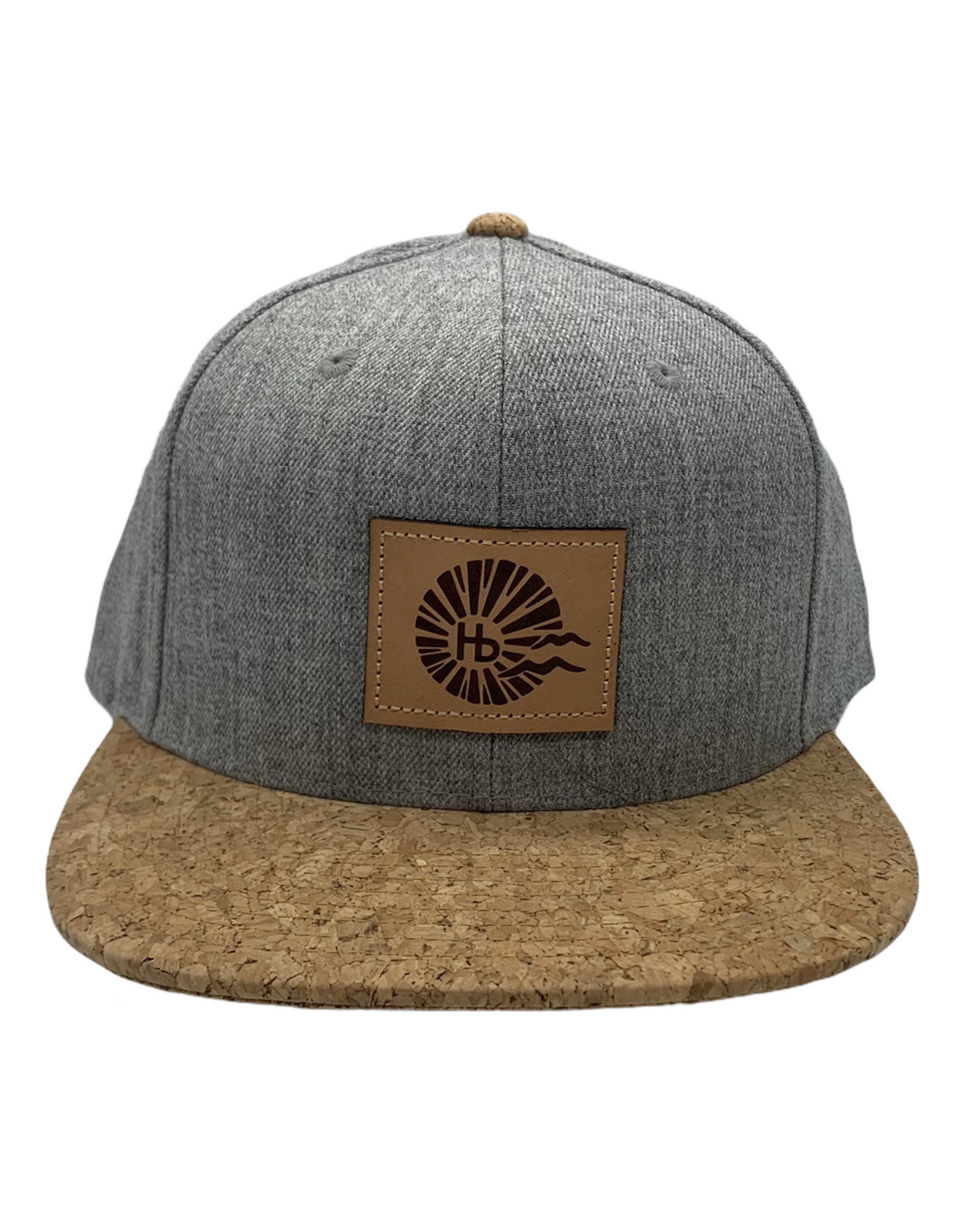Captuer Headwear #F HB SUN HAT HEATHER GREY CORK
