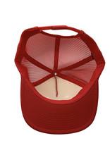 Captuer Headwear #E HB SUNRISE PATCH FOAM HAT RED