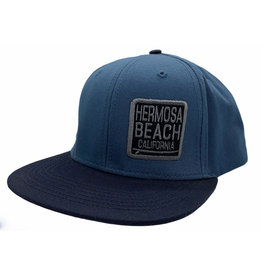 Lakeshirts INC. #FF HB  SURFBOARD SQUARE ANTIQUE SAPPHIRE HAT