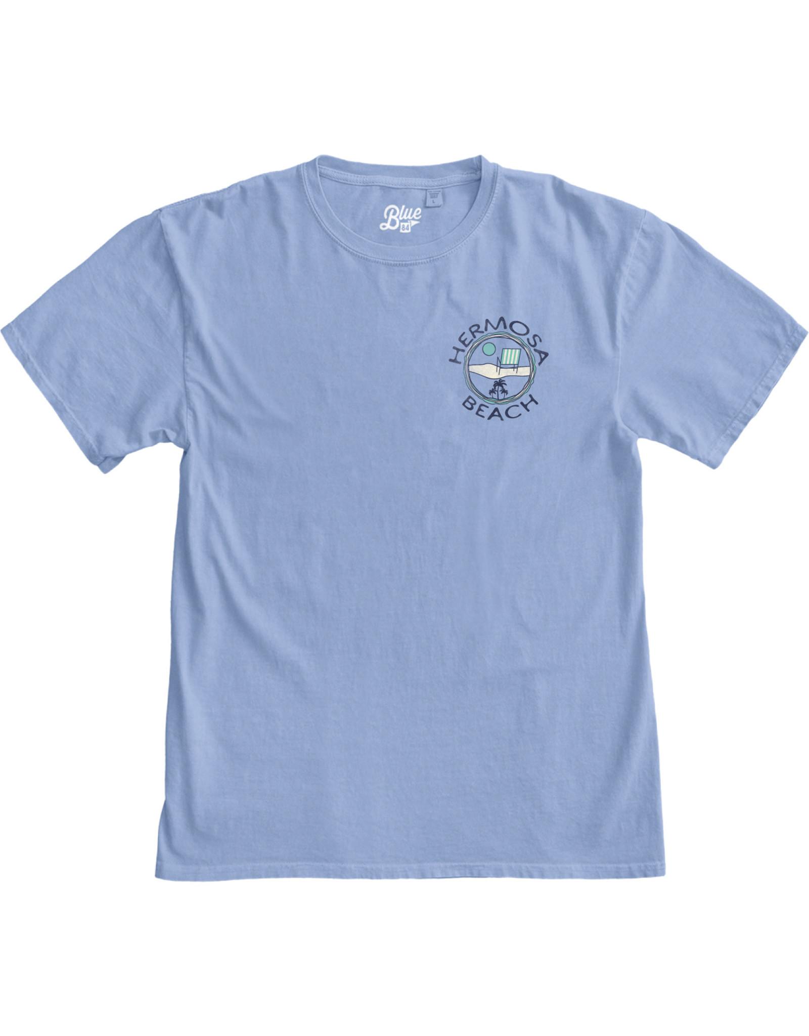 Lakeshirts INC. #228 SS HB HIPPIE SOUL SCREEN-RESORT