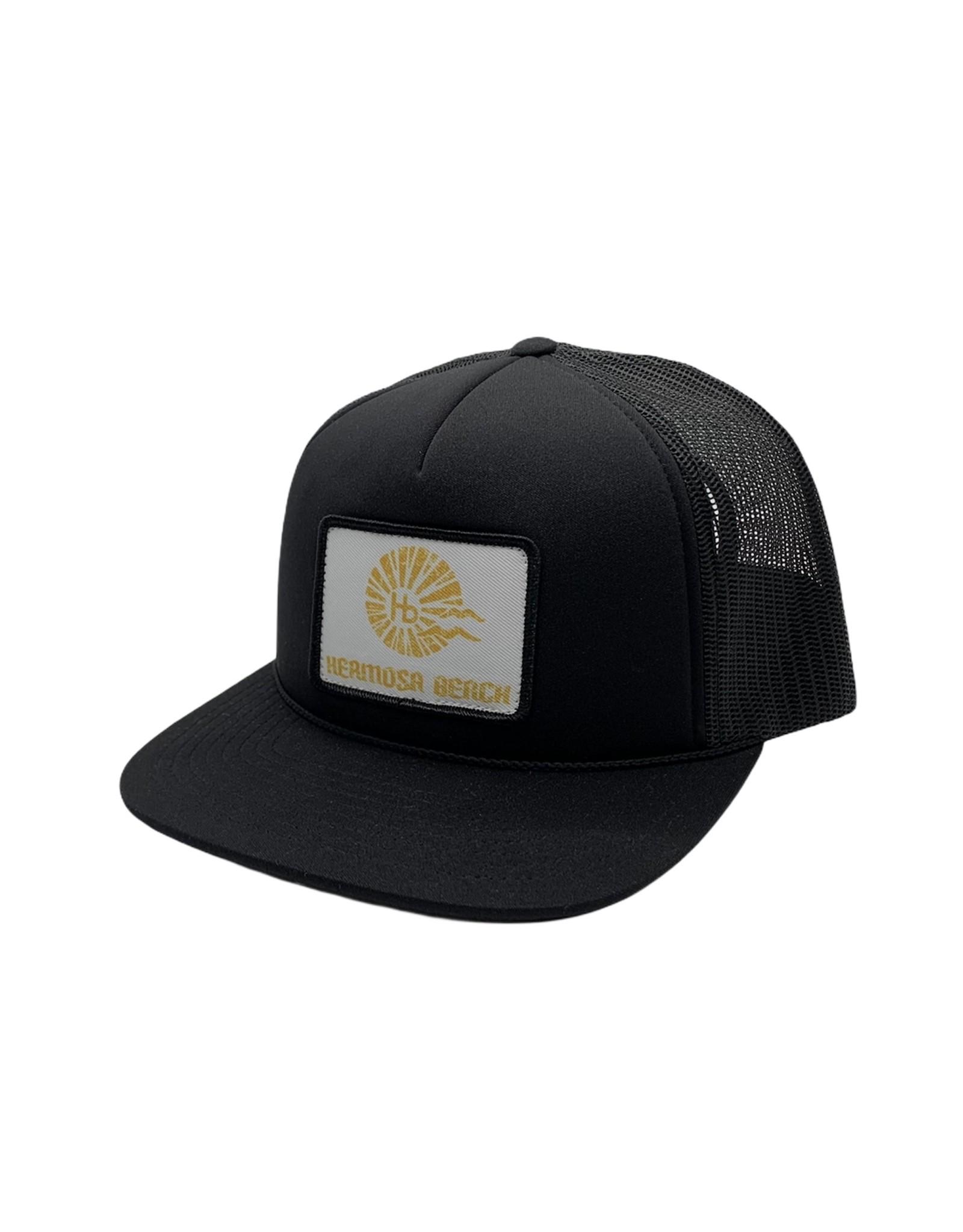 Captuer Headwear #C HB Sunrise Patch FOAM Hat BLACK
