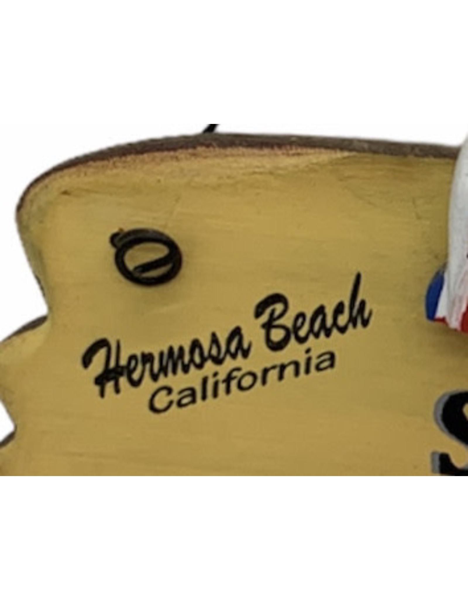 California Seashell company HB SURF UP WOOD SIGN