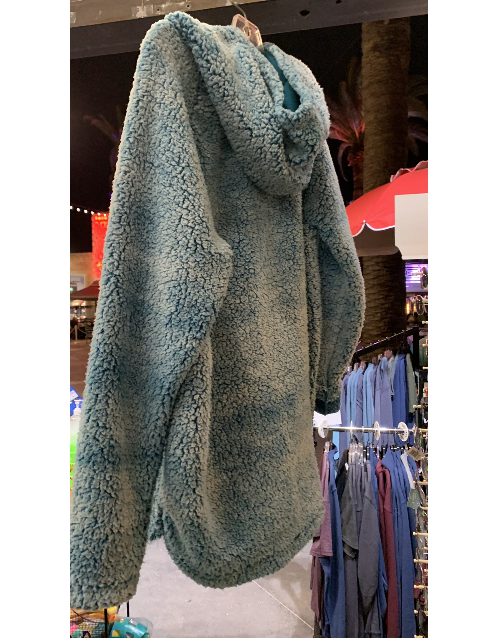 SALT CREEK APPAREL,LLC #901A  Ladies Cloud Sherpa Raglan Hoodie
