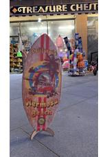 C-YA HERMOSA BEACH PINUP MINI WOOD SURFBOARD