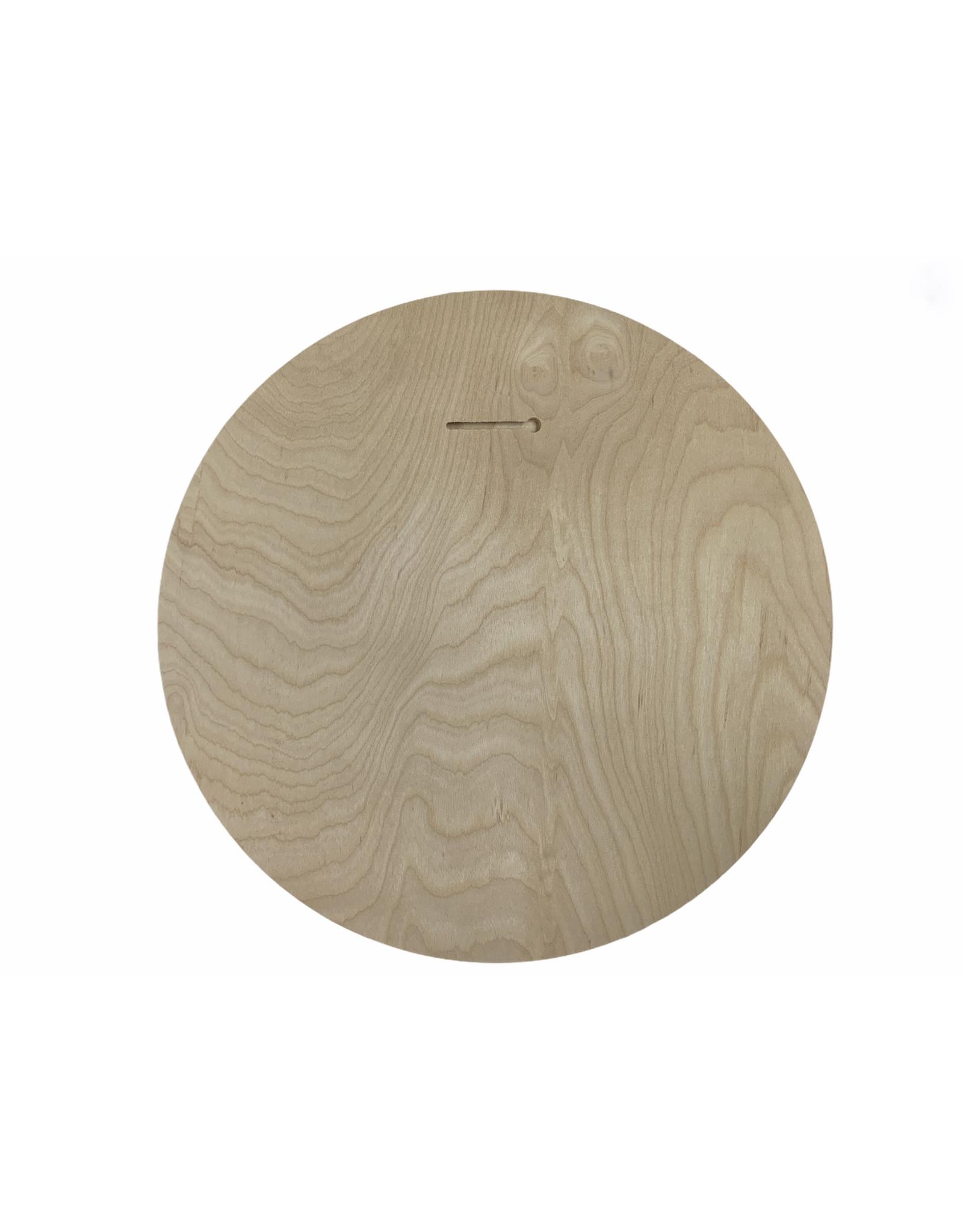 "Lakeshirts INC. HB PALM TREE WOOD CIRCLE SIGN 15.75"""