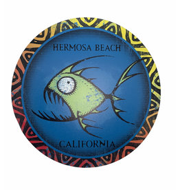 Lakeshirts INC. HB MAZE FISH CIRCLE  METAL SIGN 11.5""