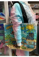 Art Studio Co HB SHOPPER TOTE PAINTED CANVAS