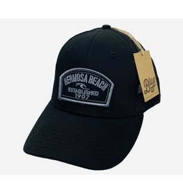 Lakeshirts INC. #EE HB  HALF PAST WAVE TWILL PATCH HAT