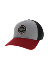 #OO HB MPS ROUND PATCH SURFBOARD RED BRIM