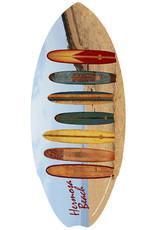 C-YA HERMOSA BEACH LONGBOARD MINI WOOD SURFBOARD