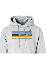 Techstyles #300 HB HOOD SWT VILLAGER ESSENTIAL HEATHER GRAY