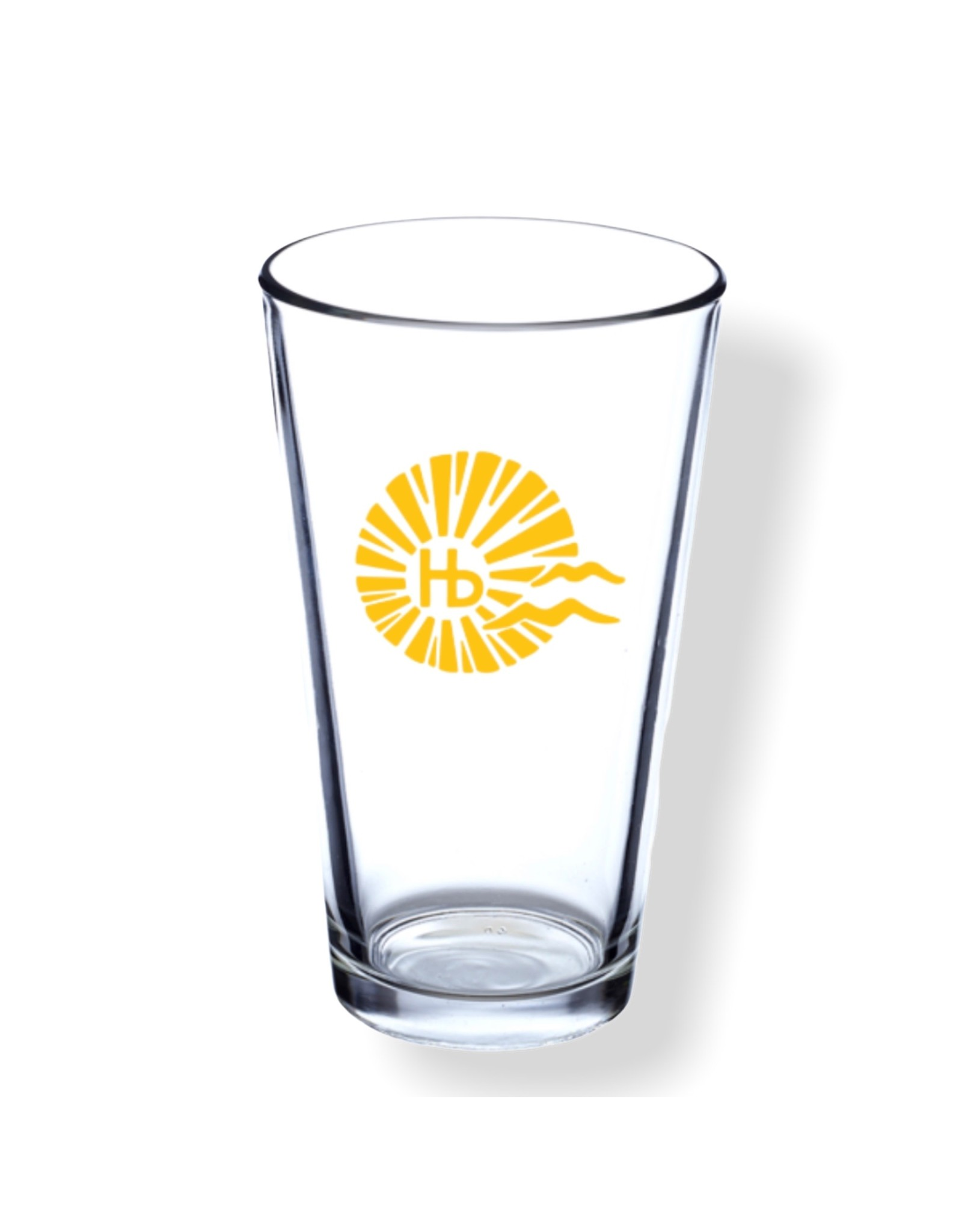 DiscountMugs HB CITY LOGO PINT GLASS