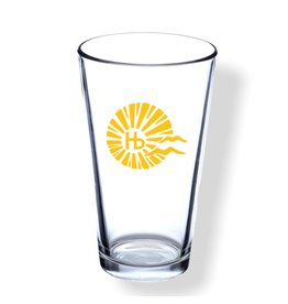 DiscountMugs HB CITY LOGO PINT GLASS