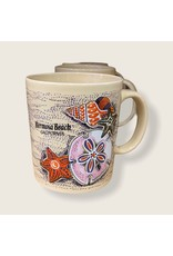 HB SANDOLLAR BEACH CERAMIC 16 OZ MUG