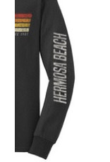 Techstyles #501 TS LS HB MOMENTUM H.CHARCOAL