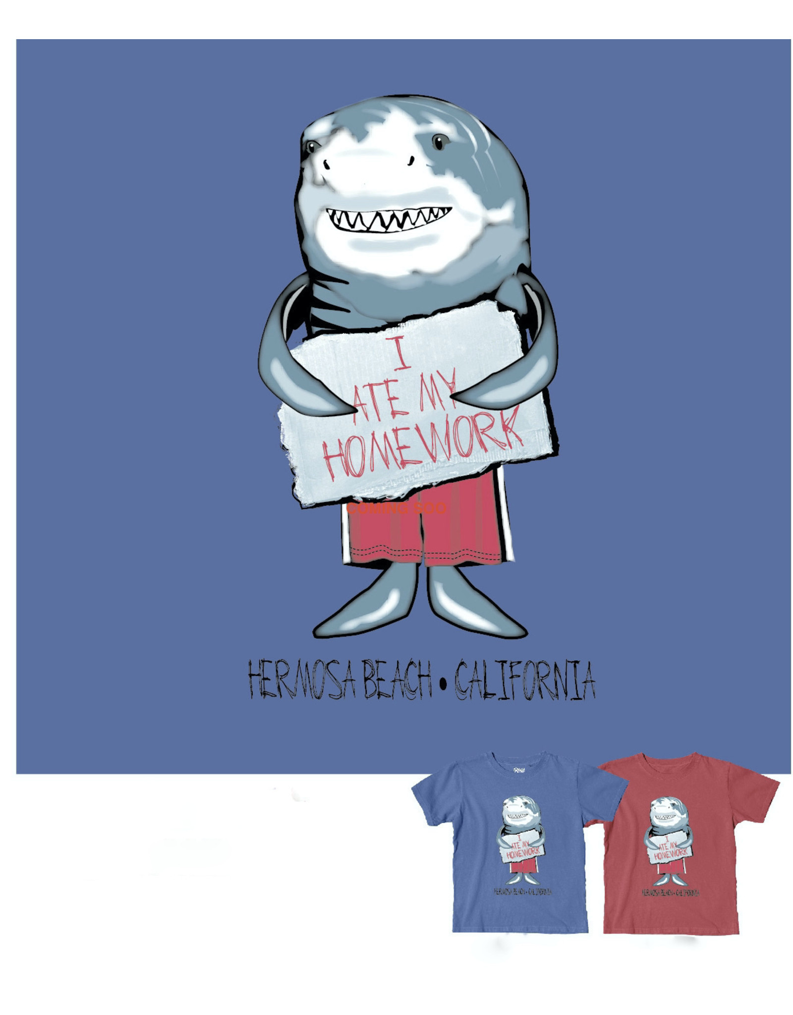 Blue 84 #50Y B84 DR YOUTH SS HB SMALL SPRITE SHARK TAHITI BLUE