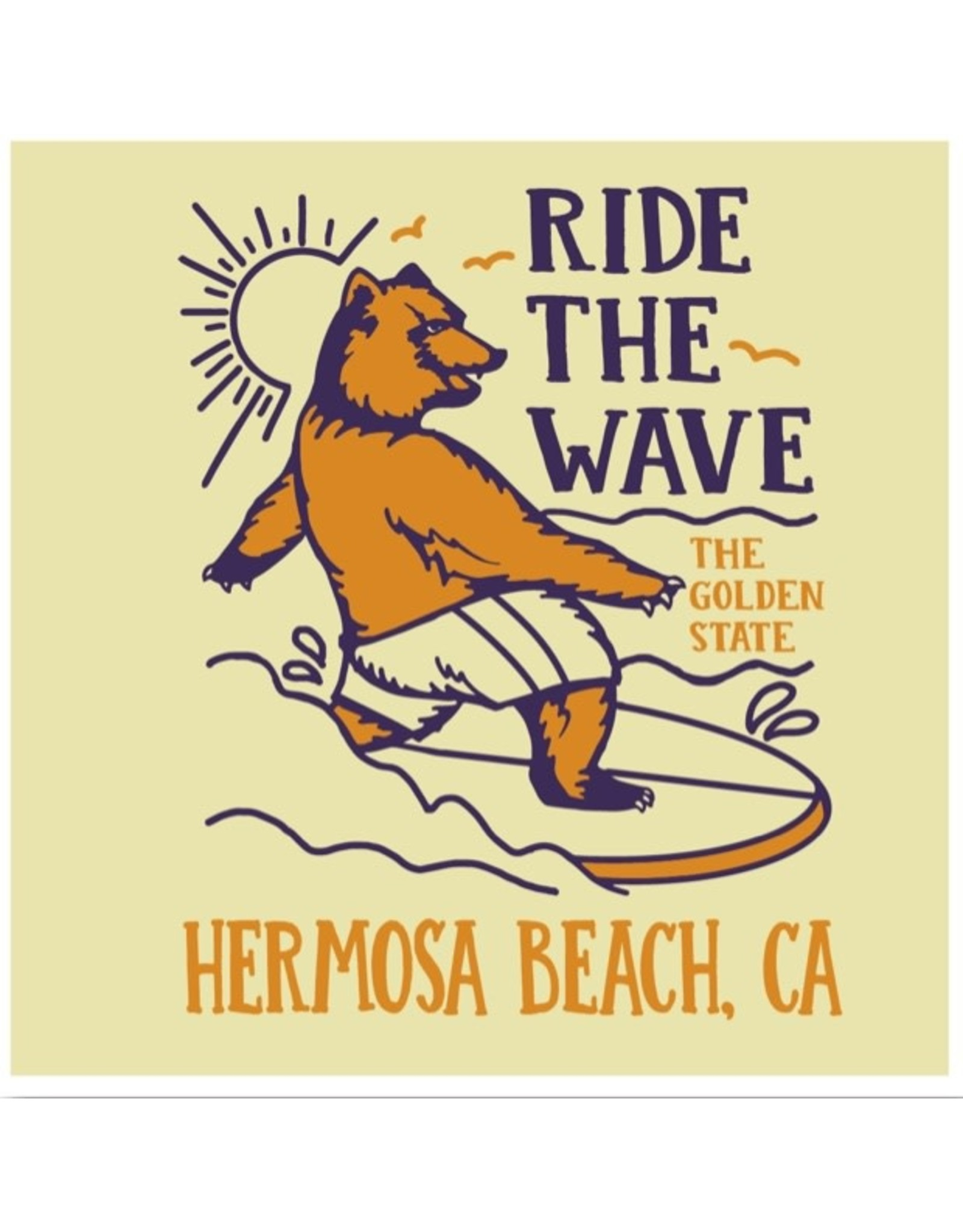 Black Anchor Supply CO. #2i BA INFANT SS HB RIDE THE WAVE