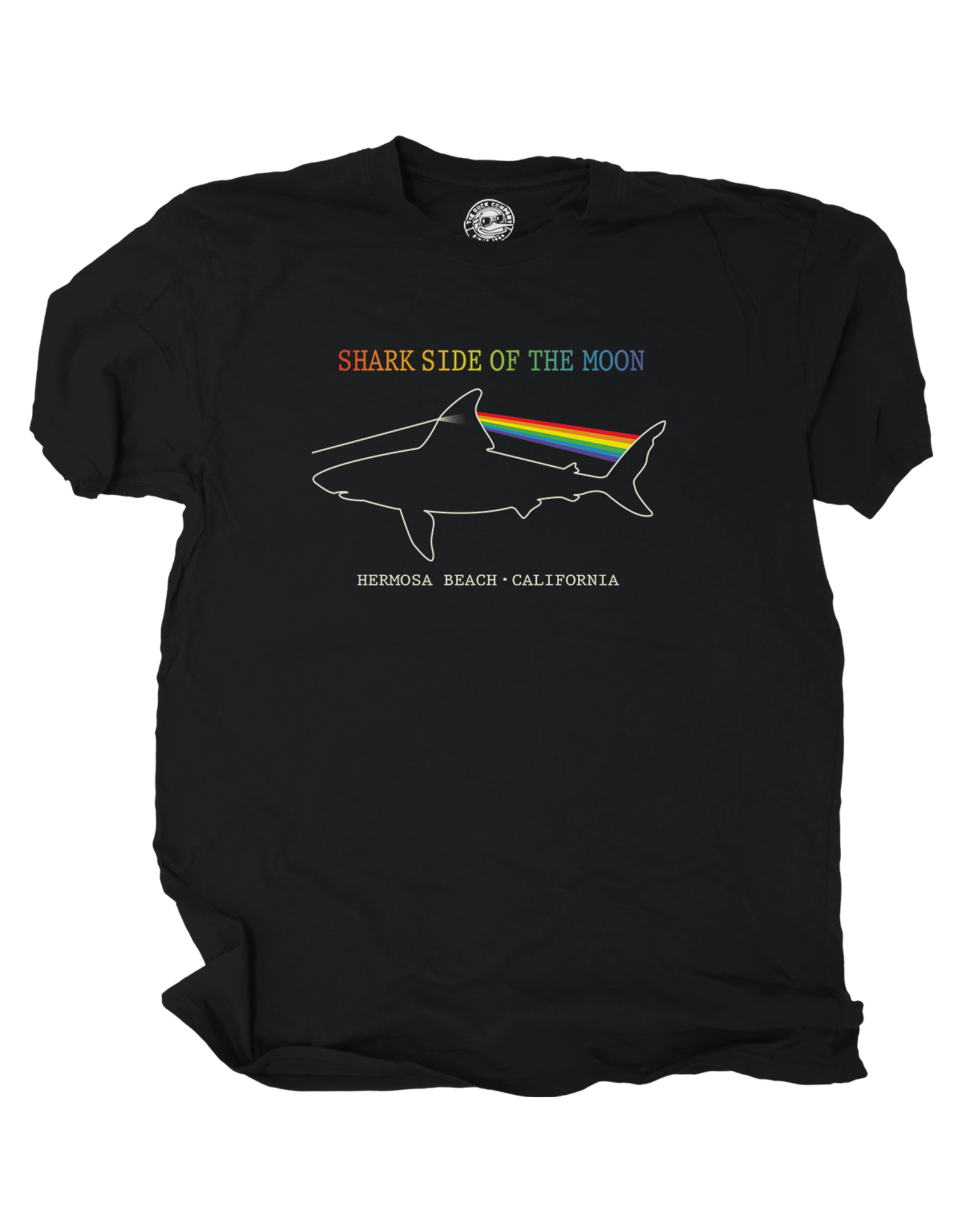 Duck Co. #407 DC SS HB SHARK SIDE OF THE MOON W.BLACK