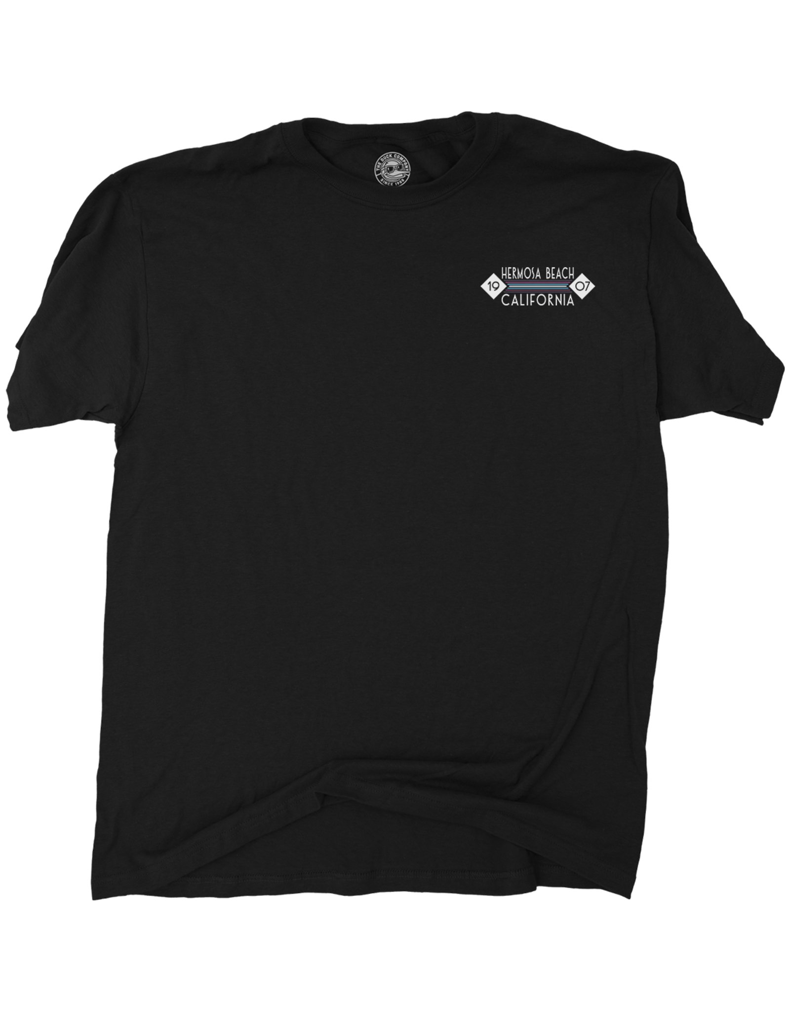 Duck Co. #802 DC SS HB TROPICAL ICON VIEWS BLACK