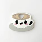 Jululu °° Jouet de dentition | Café latte