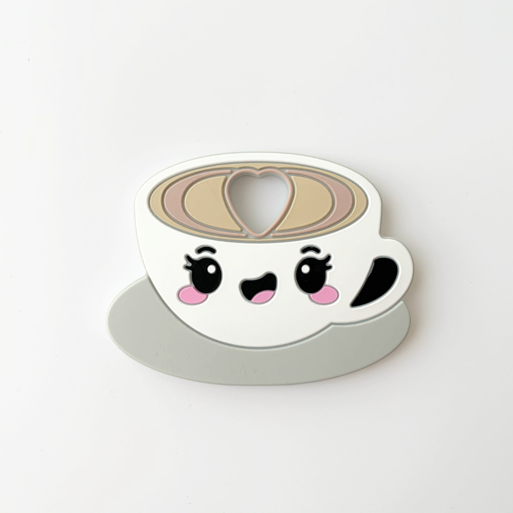 Jululu °° Jouet de dentition   Café latte