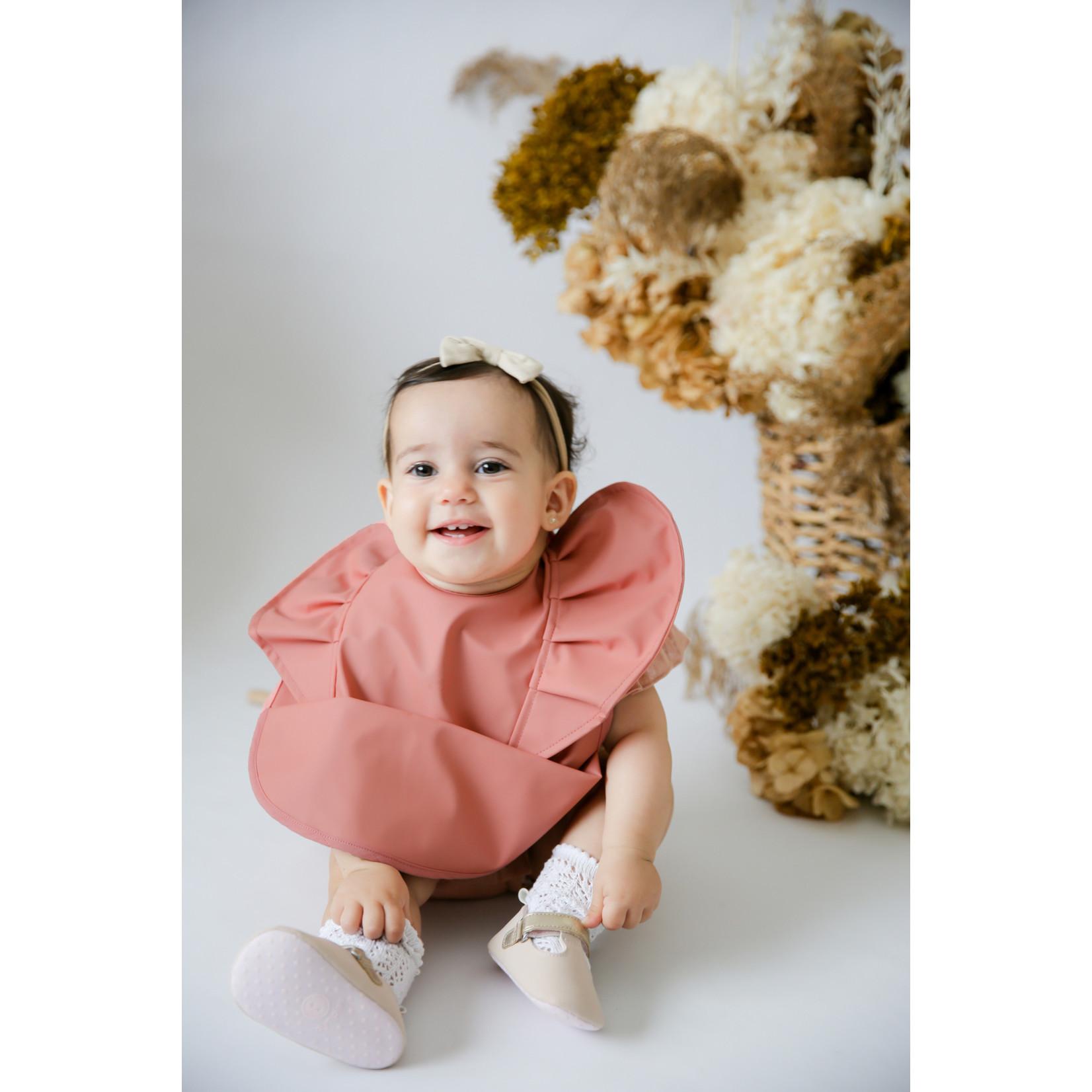 Snuggle Hunny °° Bavette Fille Vieux rose