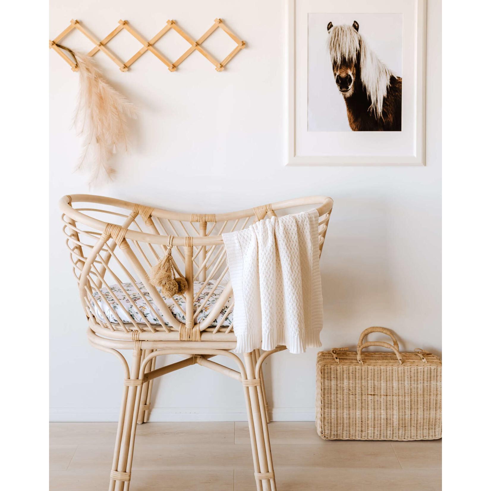 Snuggle Hunny °° Housse de table à langer Eucalyptus