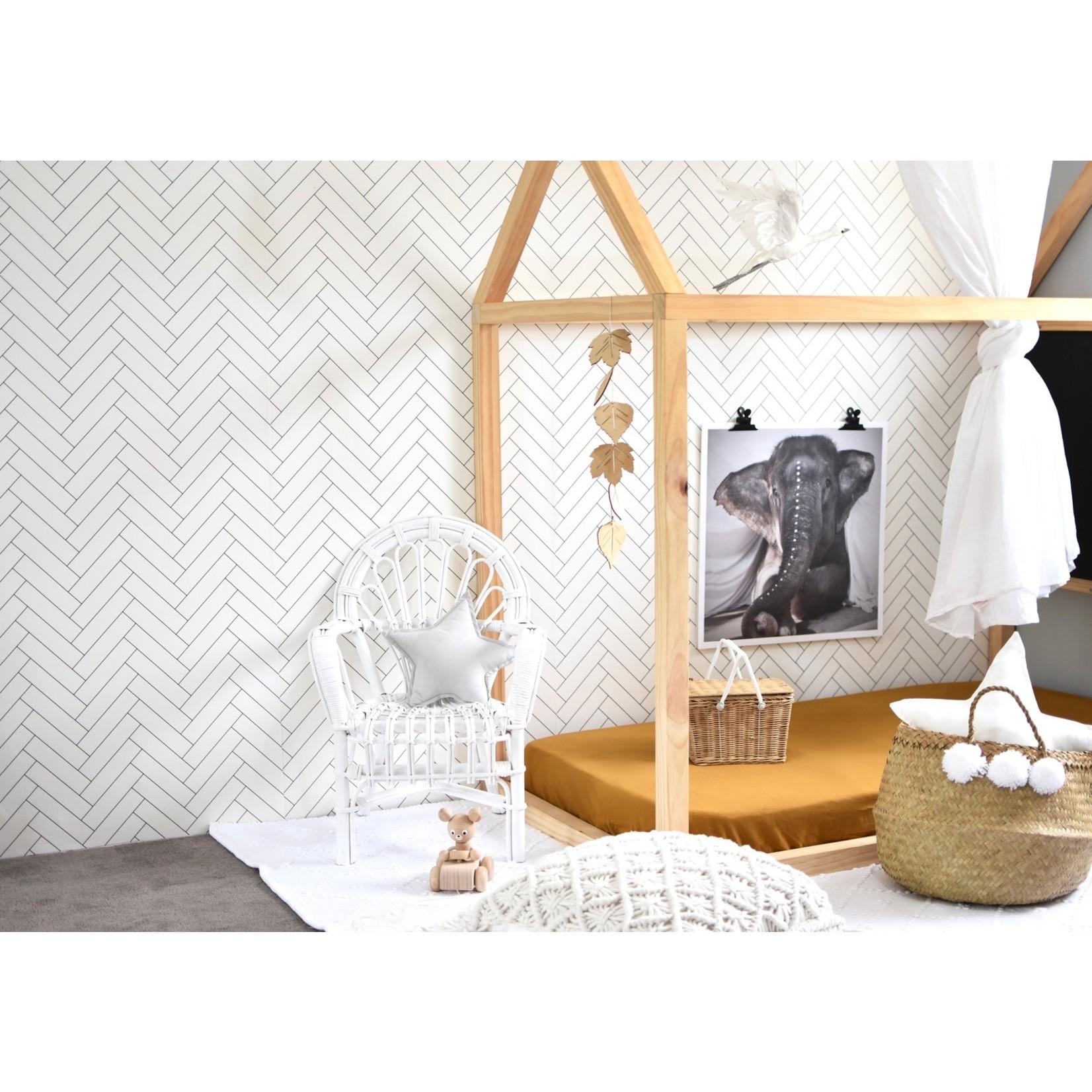 Snuggle Hunny °° Housse de bassinette Ocre