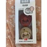 Bibs    Bibs Beige / Rouille 6-18 mois