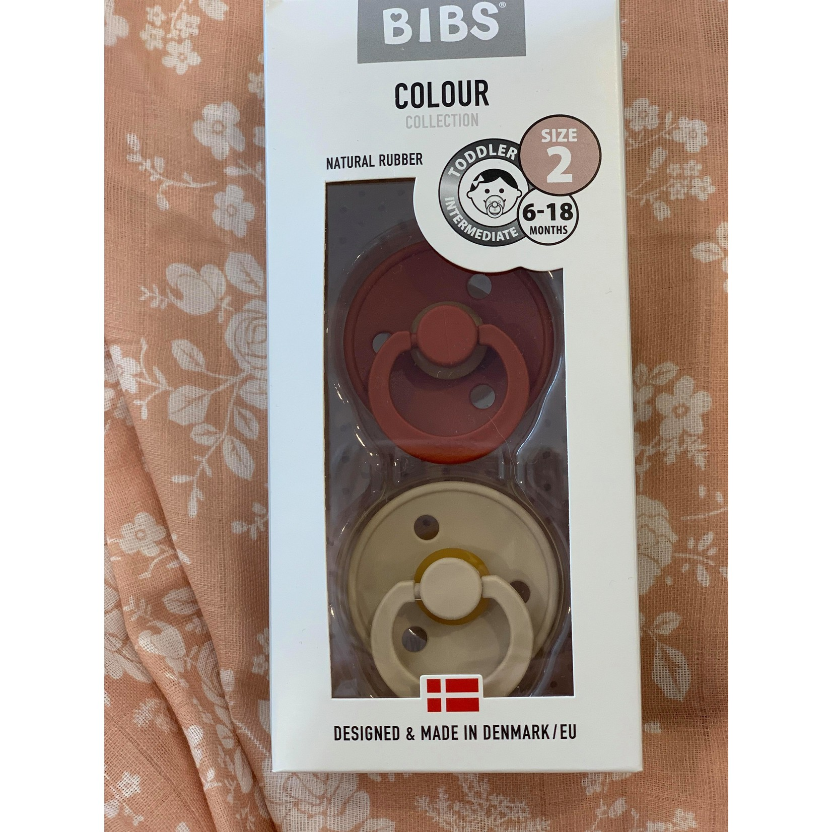 Bibs    Bibs Rouille/ Beige 6-18 mois