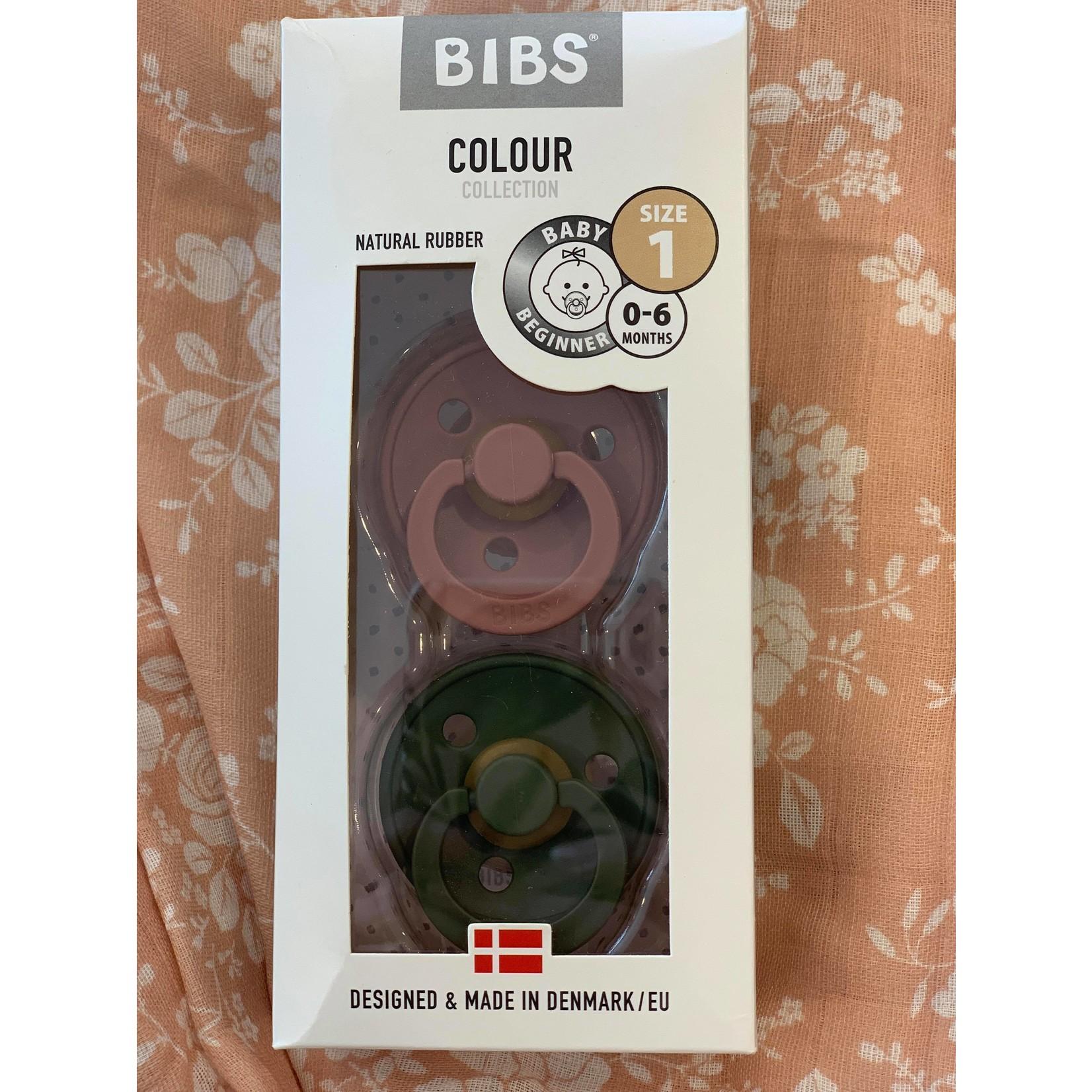 Bibs    Bibs Framboise/ Kaki 0-6 mois