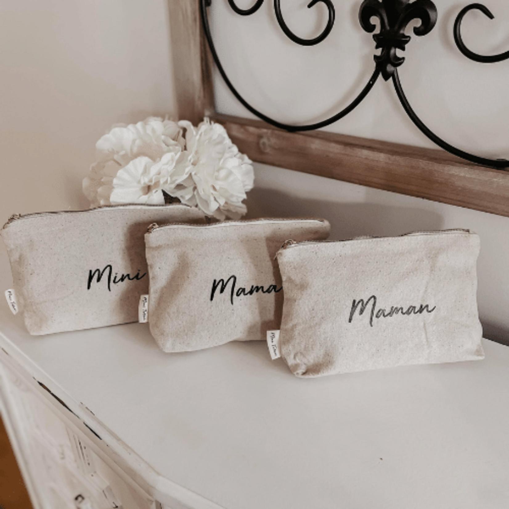 Mini Totem || Pochette en coton Mama recyclé