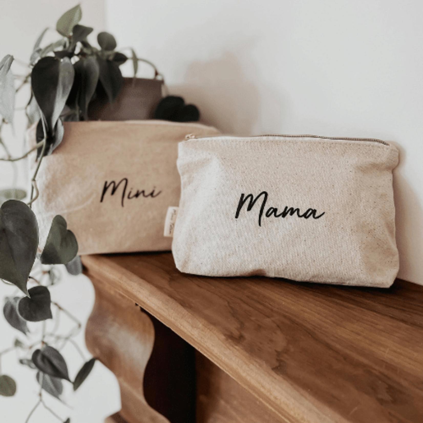 Mini Totem || Pochette en coton Mini recyclé