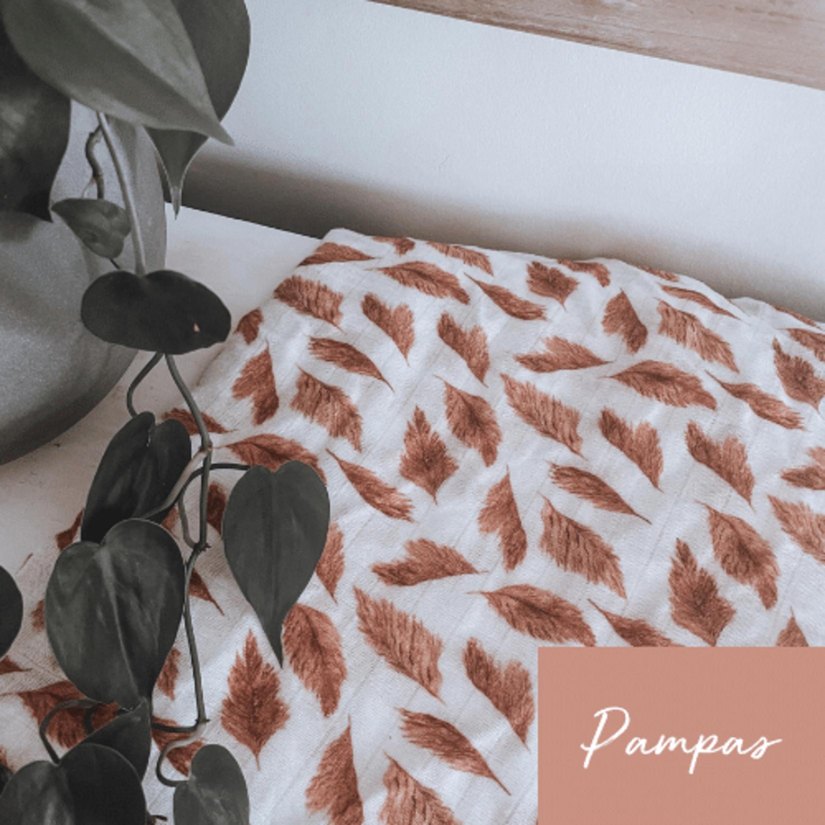 Mini Totem    Mousseline Bambou/Coton Pampas