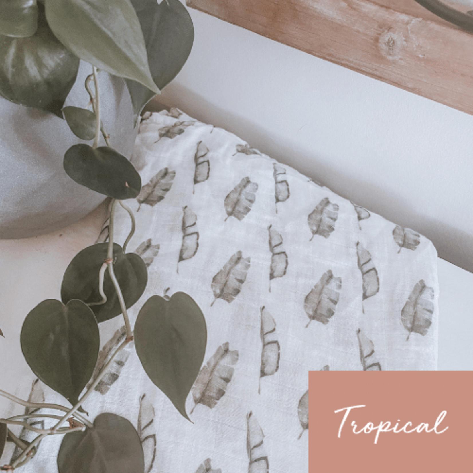 Mini Totem || Mousseline Bambou/Coton Tropical