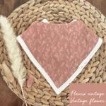 Mini Totem || Bavoir bambou/coton Champs de fleur