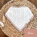 Mini Totem || Bavoir bambou/coton  Boho