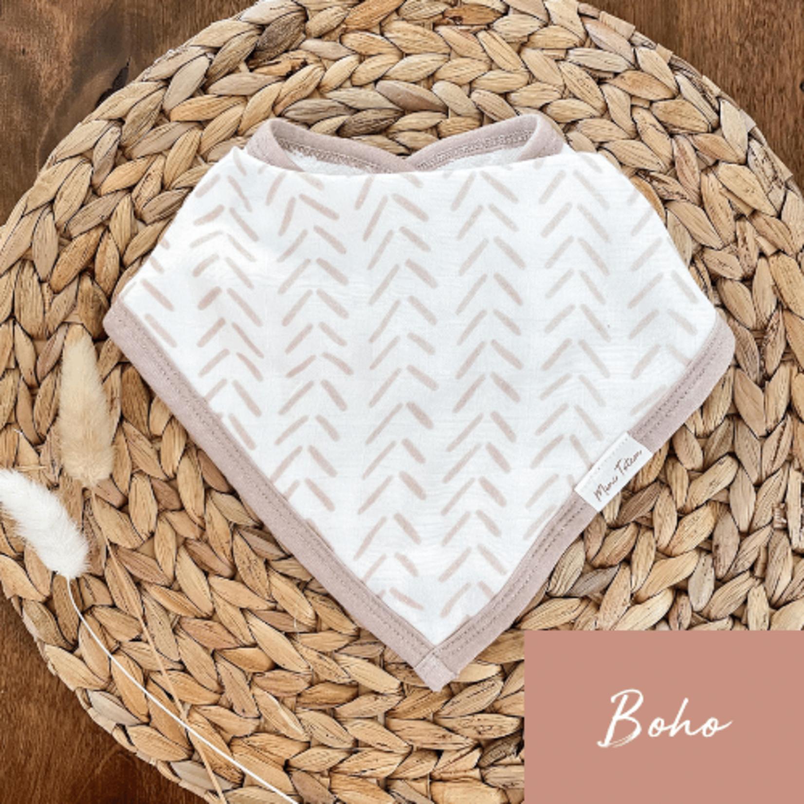 Mini Totem    Bavoir bambou/coton  Boho