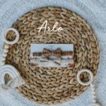 Mini Totem || Noeuds papillon en coton-lin Arlo