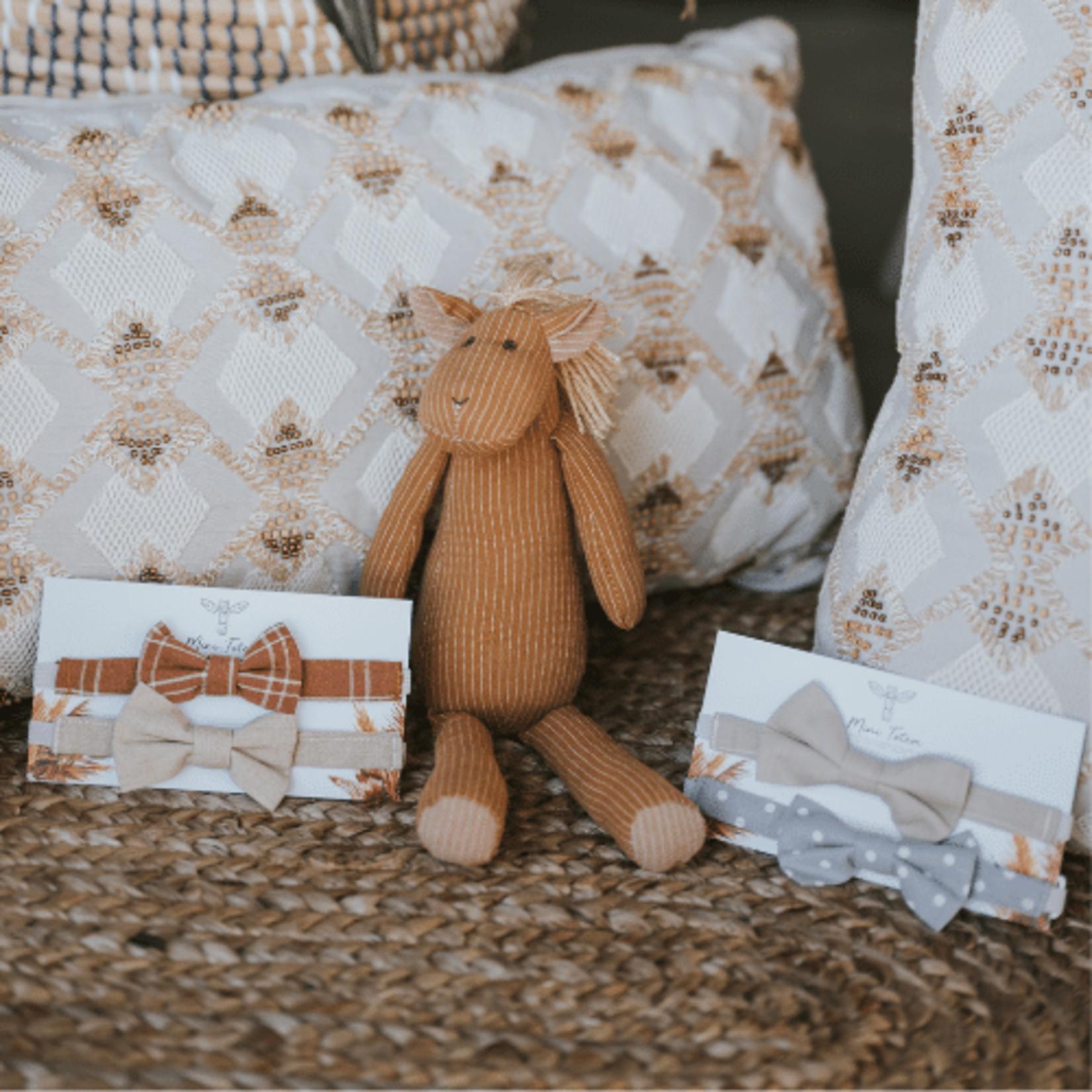 Mini Totem    Noeuds papillon en coton-lin Milo