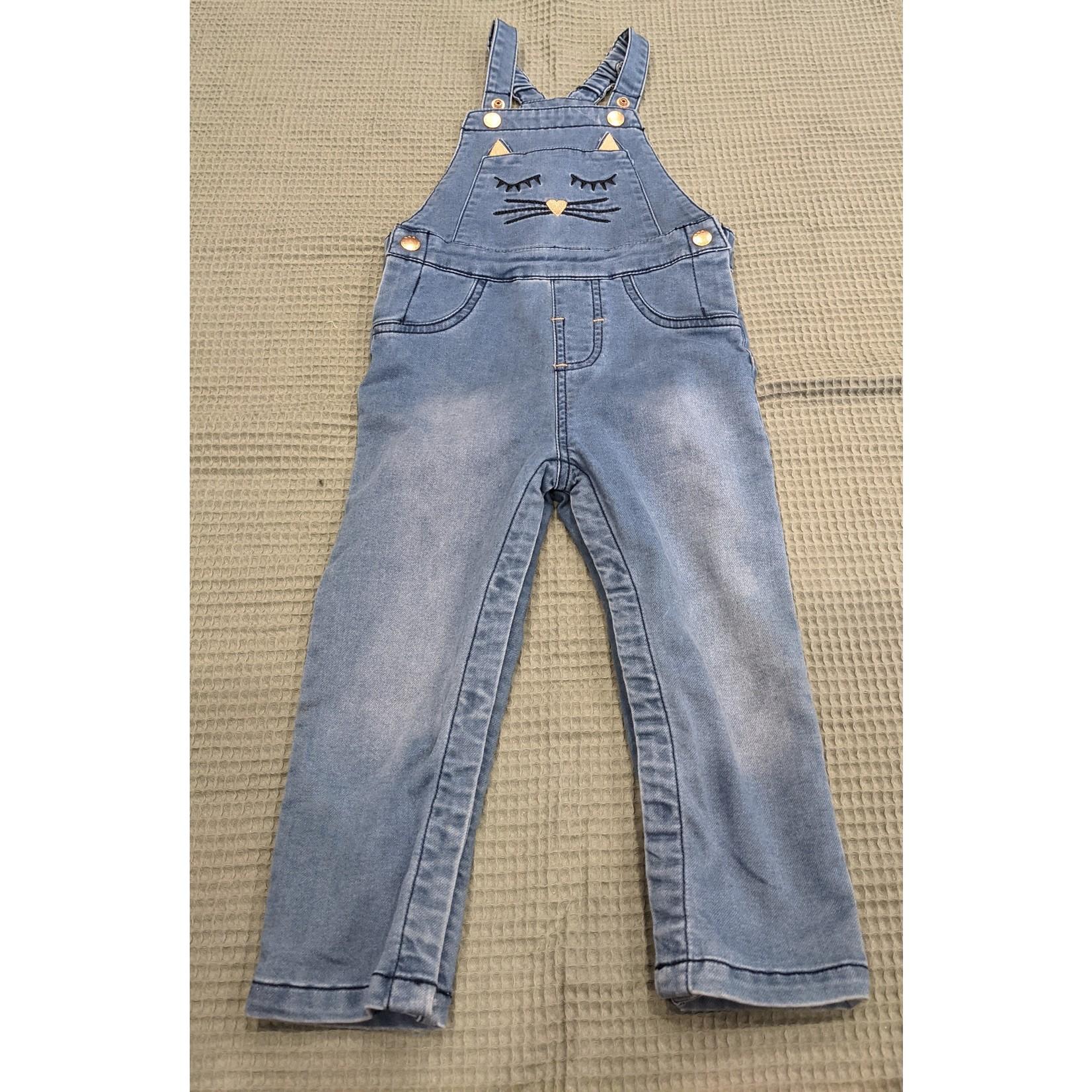 #53 Salopette jeans chaton