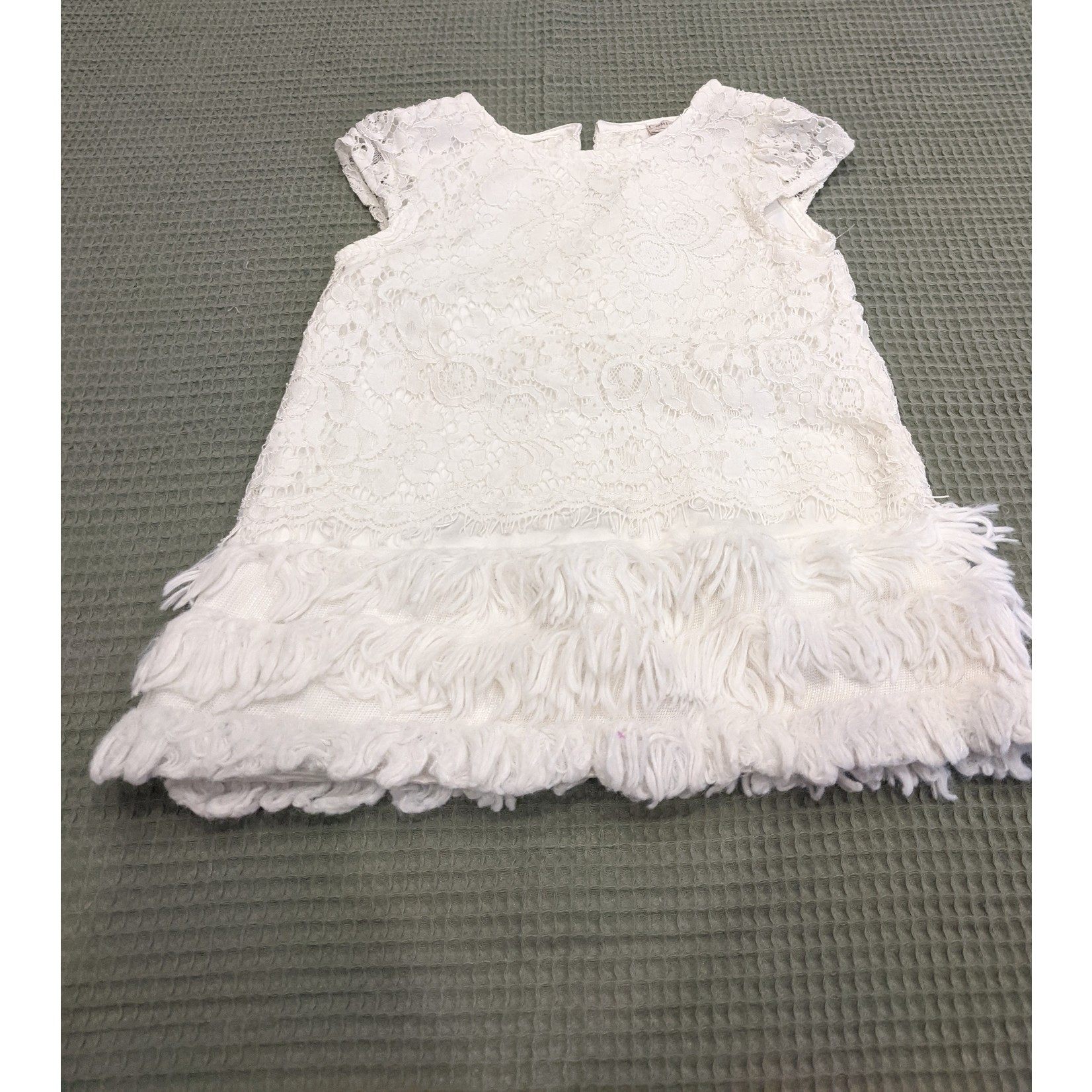 #55 Robe dentelle blanche